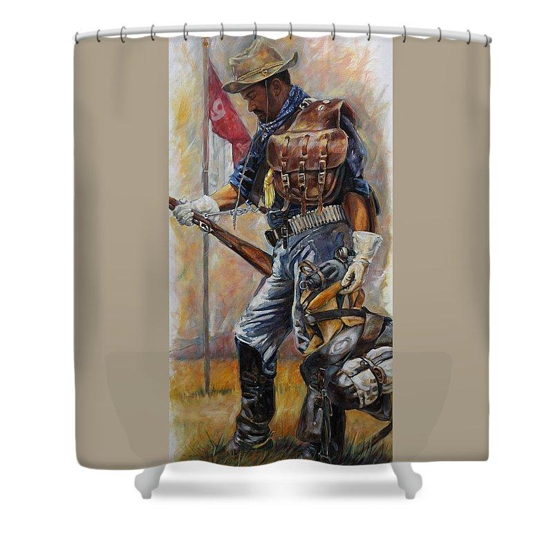 Soldier Shower Curtains