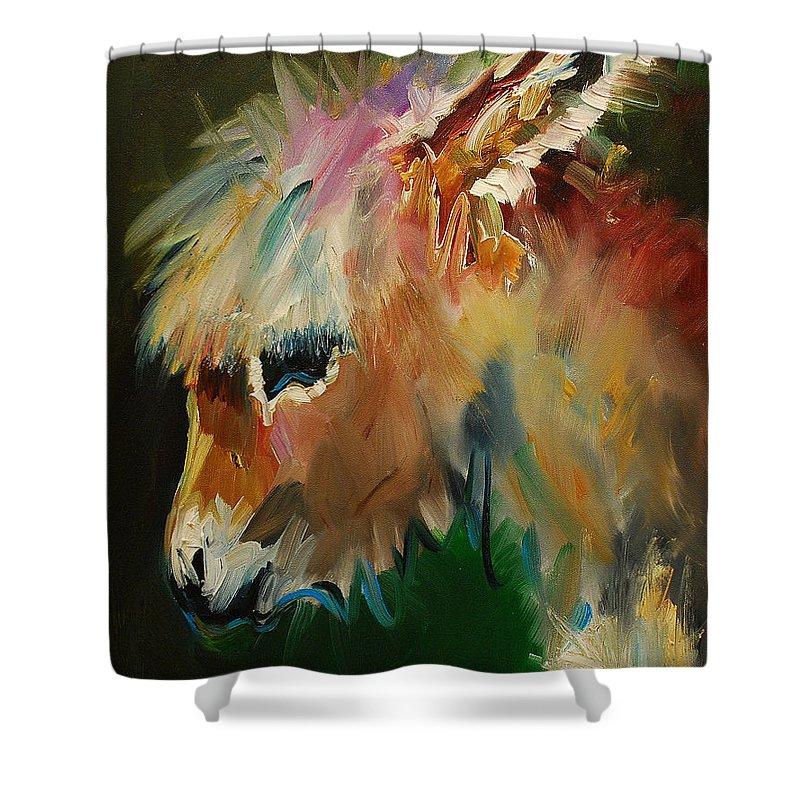 Donkey Shower Curtains