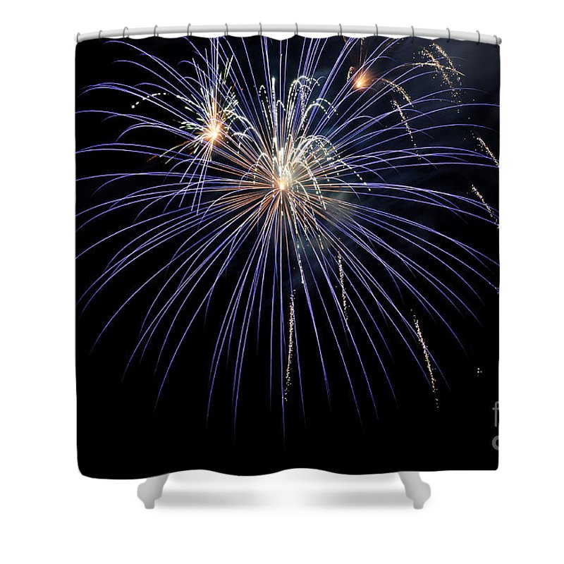 Clay Shower Curtain featuring the photograph Burst by Clayton Bruster