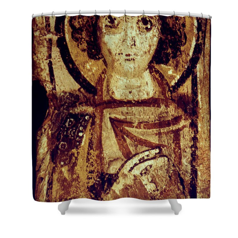 6th Century Shower Curtain featuring the photograph Byzantine Icon by Granger