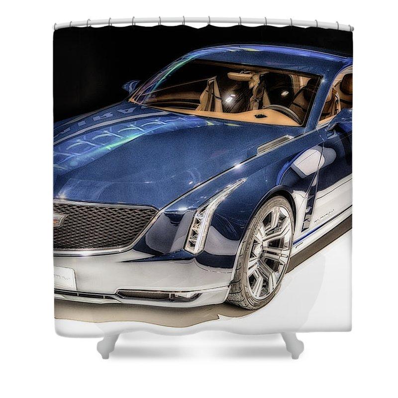 Cadillac Shower Curtain featuring the photograph Cadillac Elmiraj by Duschan Tomic