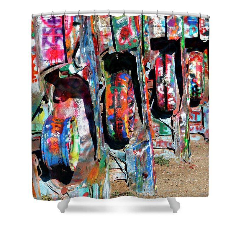 Cadillac Shower Curtain featuring the photograph Cadillac Style by Ricky Barnard