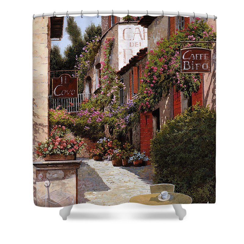Shops Paintings Shower Curtains
