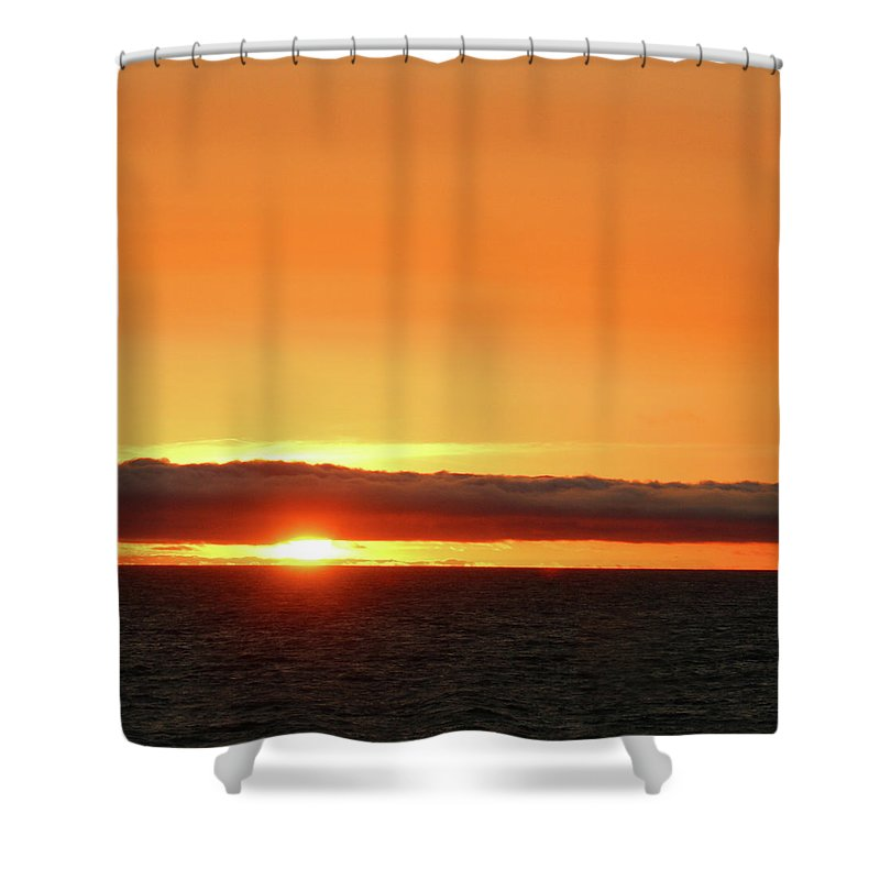 California Shower Curtain featuring the photograph Calif Sunset March 2011 by Ernie Echols