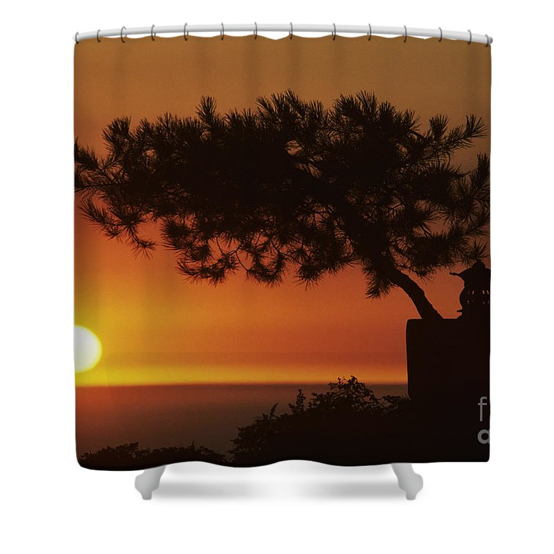 America Shower Curtain featuring the photograph California, Big Sur Coast by Larry Dale Gordon - Printscapes