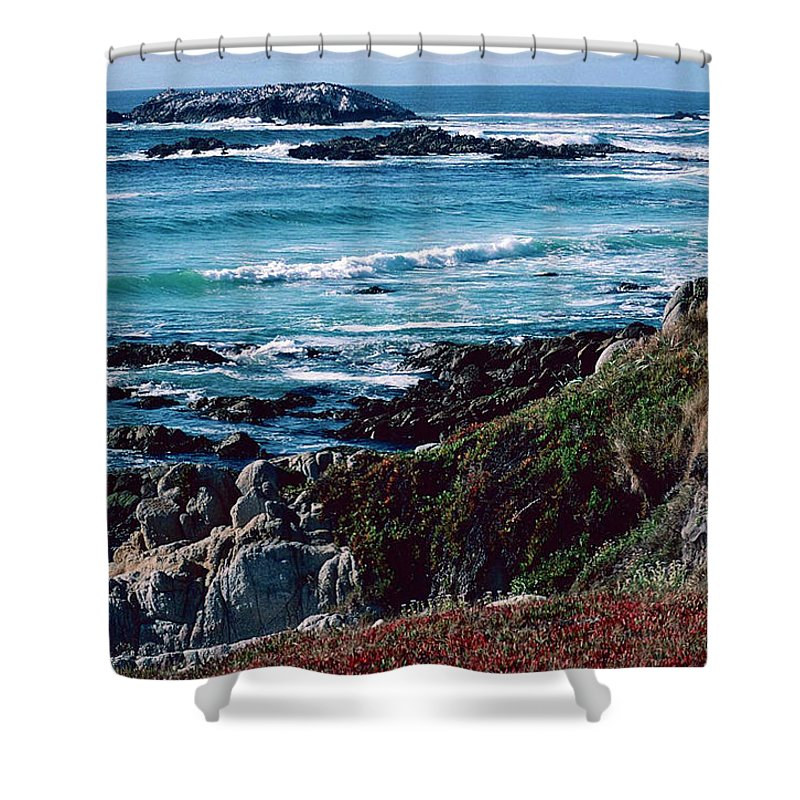 California Coast Shower Curtain For Sale By Ira Marcus