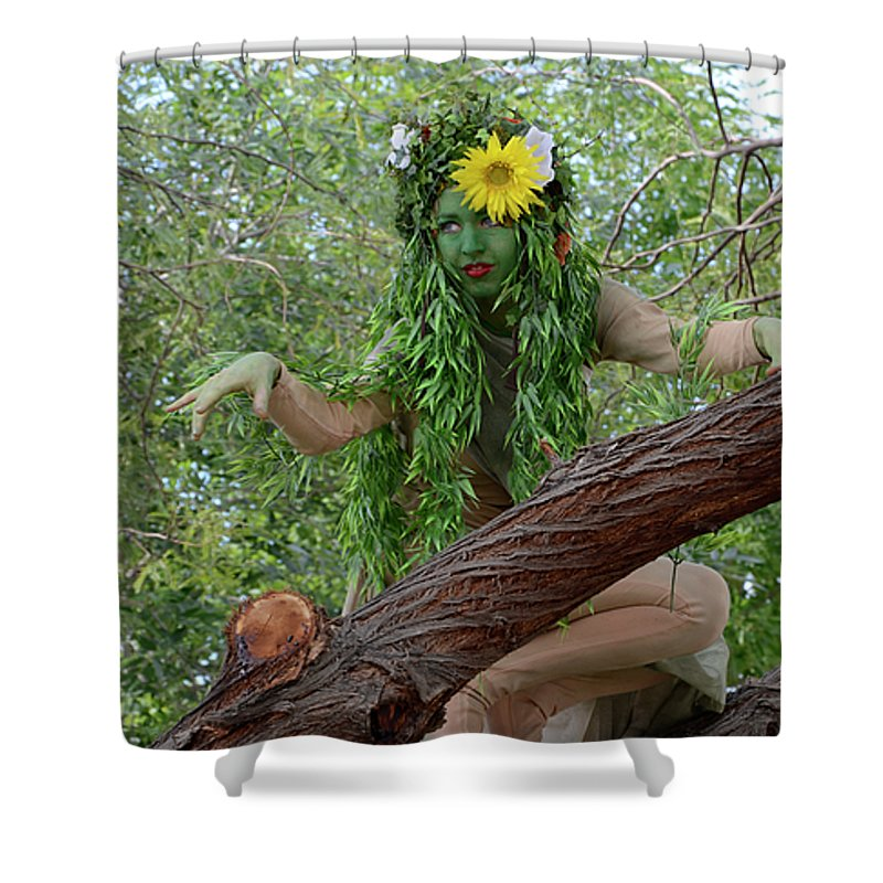 California Shower Curtain featuring the photograph California Girl by Bob Christopher