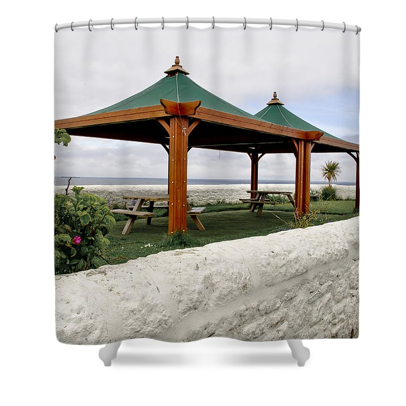 Picnic Shower Curtain featuring the photograph Call For A Picnic. by Elena Perelman