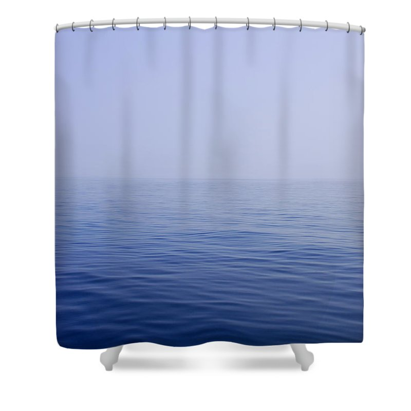 Calm Shower Curtain featuring the photograph Calm Sea by Charles Harden