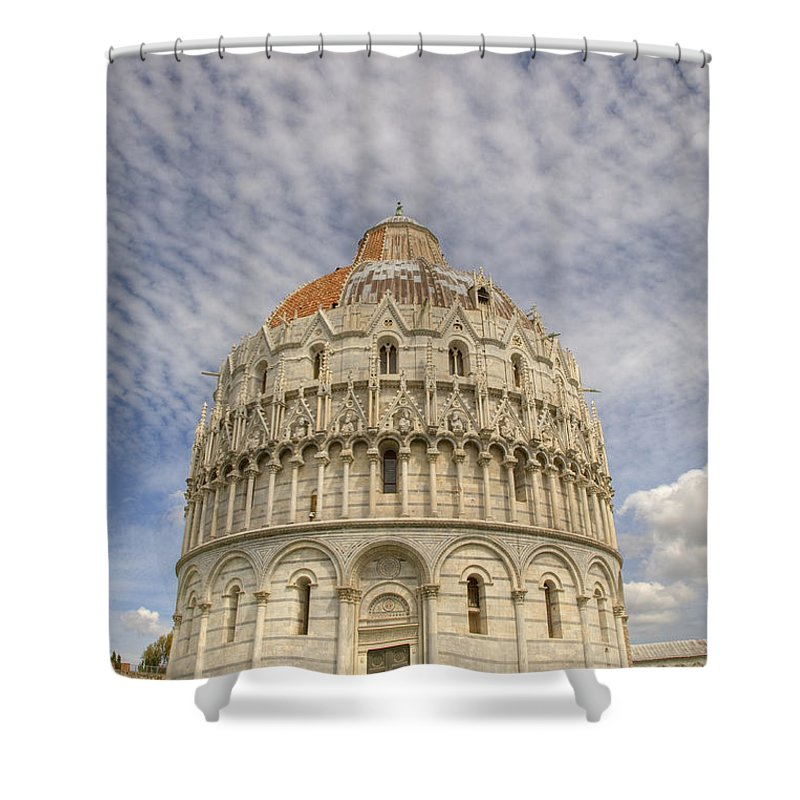 Famous Shower Curtain featuring the photograph Campo Di Miracoli Field Of Miracles by Ian Middleton