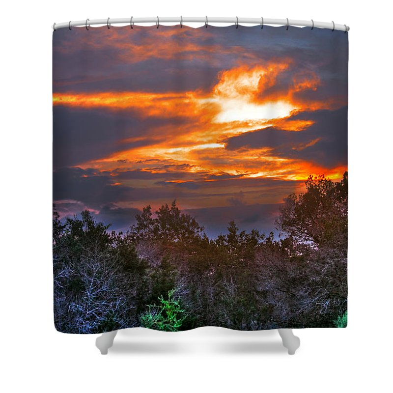 Sun Shower Curtain featuring the photograph Can You See Me by Francisco Colon
