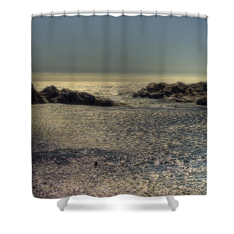 Coastal Shower Curtain featuring the photograph Canal Rocks, Yallingup, Western Australia by Elaine Teague