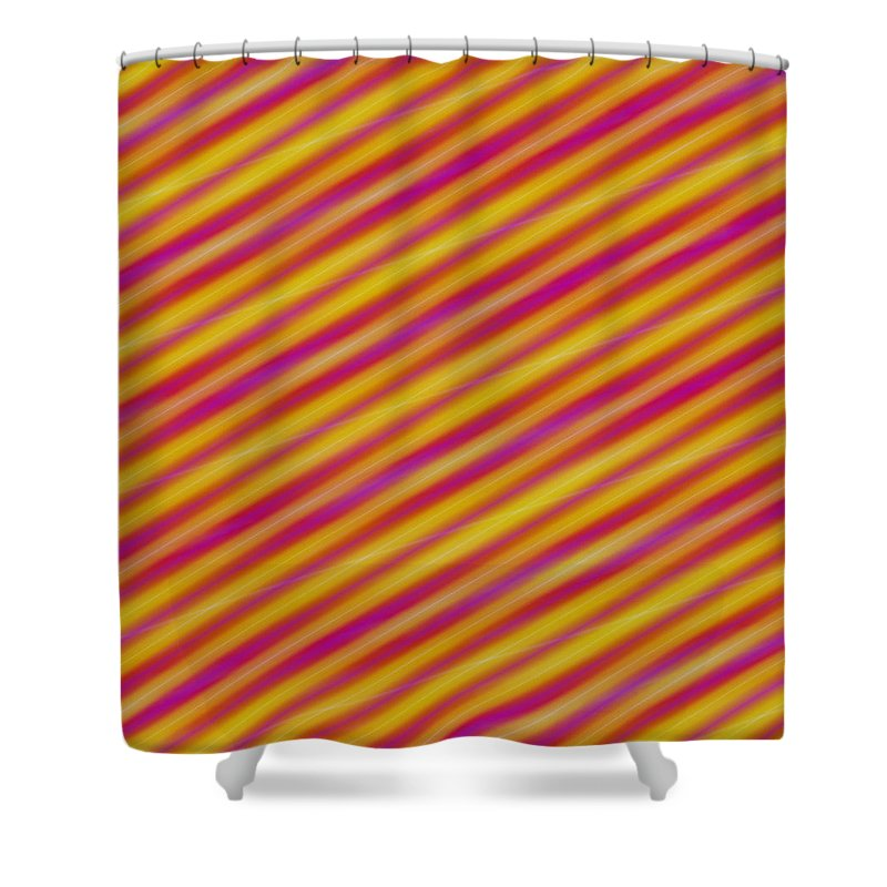 Candy Shower Curtain featuring the digital art Candy 3 by Julia Woodman