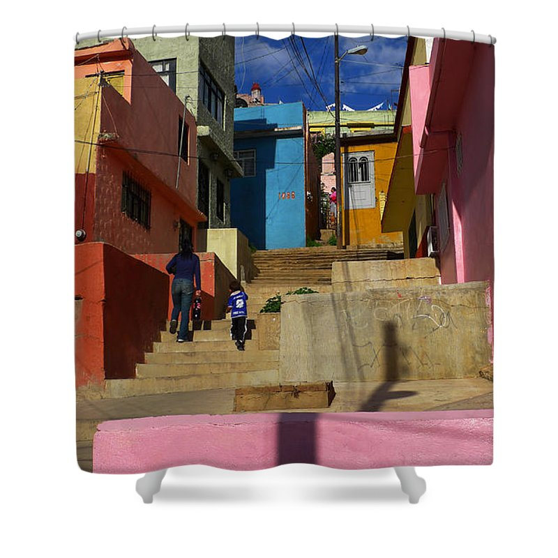Skip Hunt Shower Curtain featuring the photograph Candyland by Skip Hunt