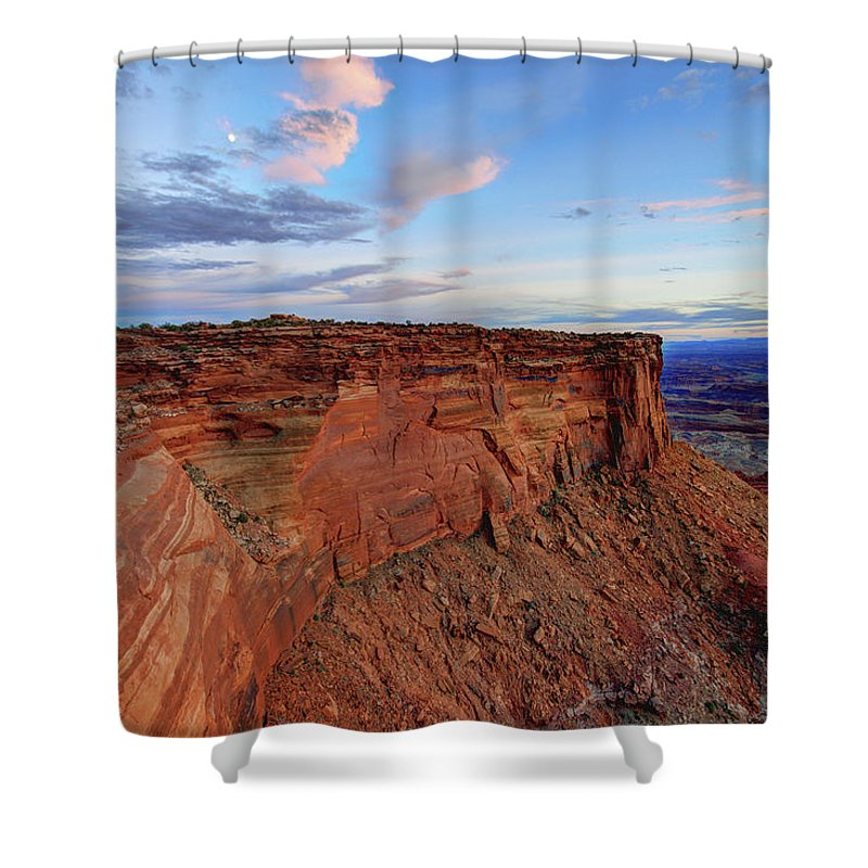 Canyonlands Delight Shower Curtain featuring the photograph Canyonlands Delight by Chad Dutson