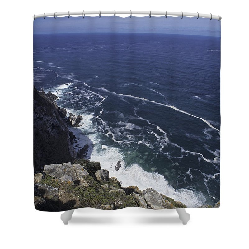 Cape Point Shower Curtain featuring the photograph Cape Point, South Africa by Stacy Gold