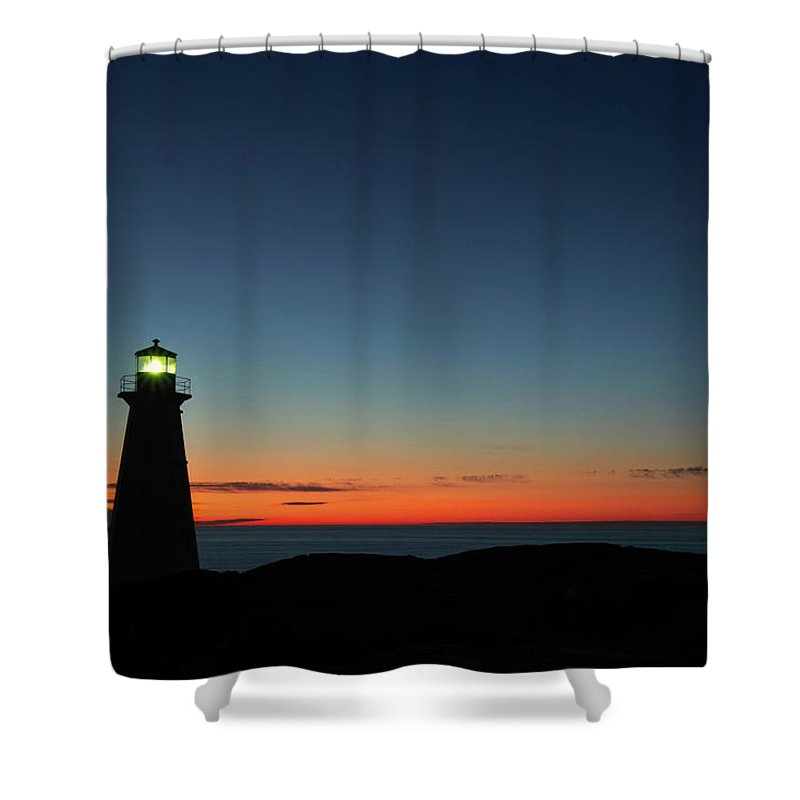 Canada Shower Curtain featuring the photograph Cape Spear Sunrise by Linda Cullivan