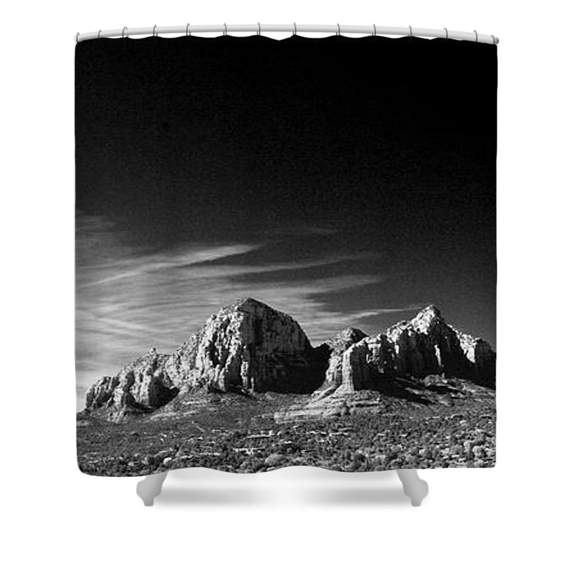 Sedona Shower Curtain featuring the photograph Capital Dome 3 by Randy Oberg