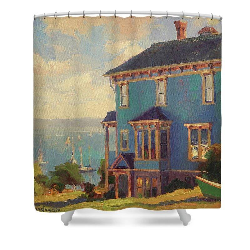 Washington Coast Shower Curtains