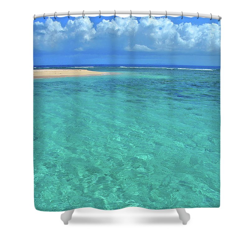 Caribbean Water Shower Curtain for Sale by Scott Mahon