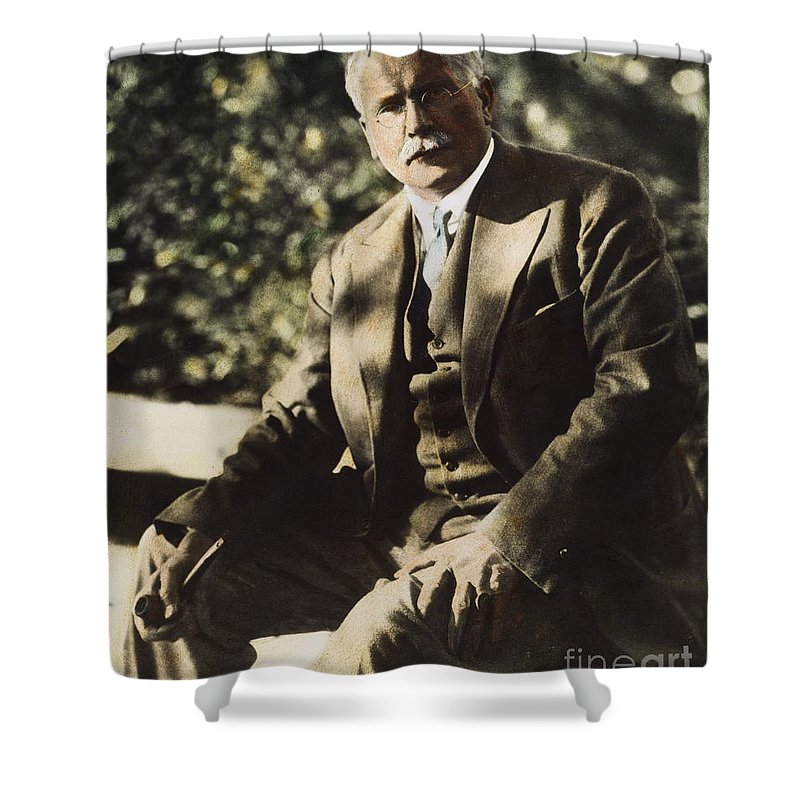 20th Century Shower Curtain featuring the photograph Carl G. Jung by Granger