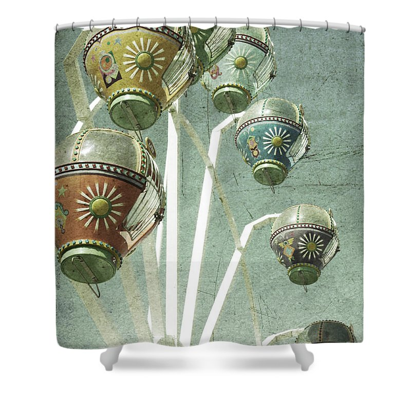 Amusement Shower Curtain featuring the photograph Carnivale by Andrew Paranavitana