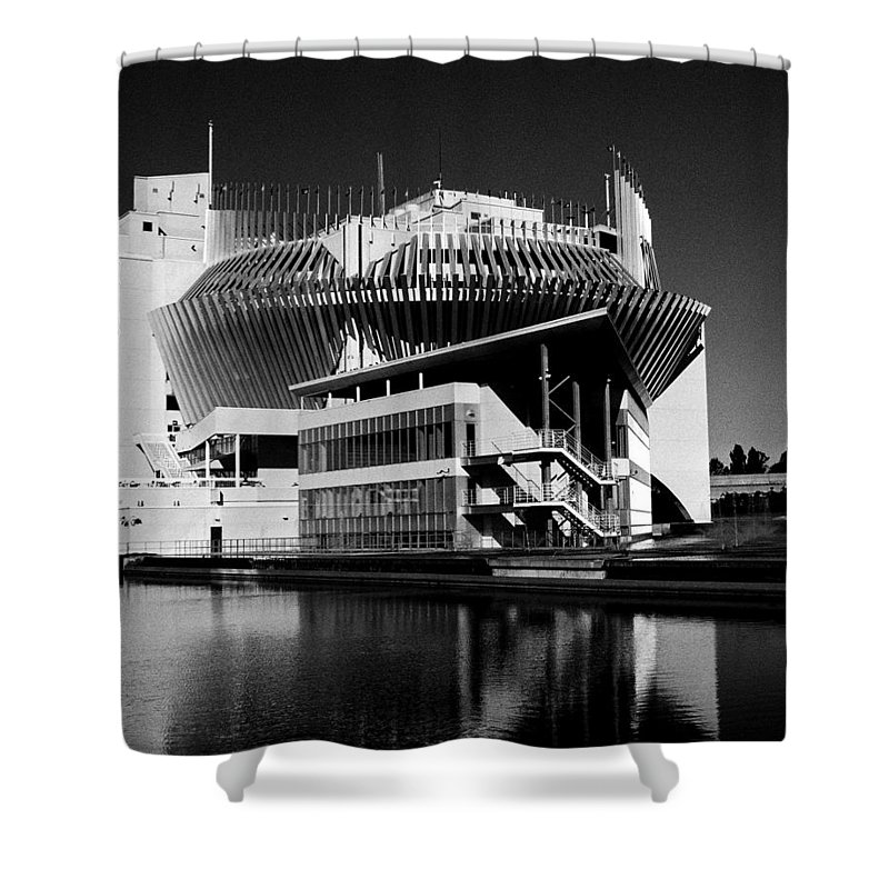 North America Shower Curtain featuring the photograph Casino Montreal by Juergen Weiss