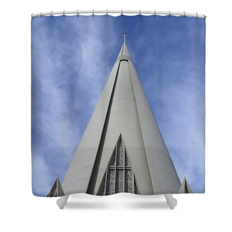Sky Photographs Shower Curtains