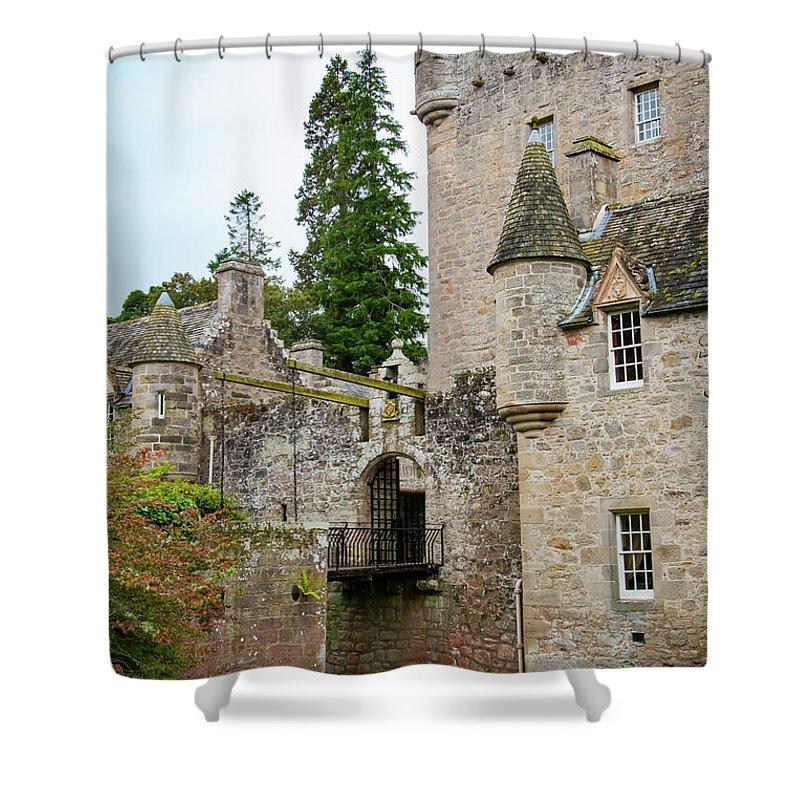Cawdor Castle Shower Curtain featuring the photograph Cawdor Castle by Bob Phillips