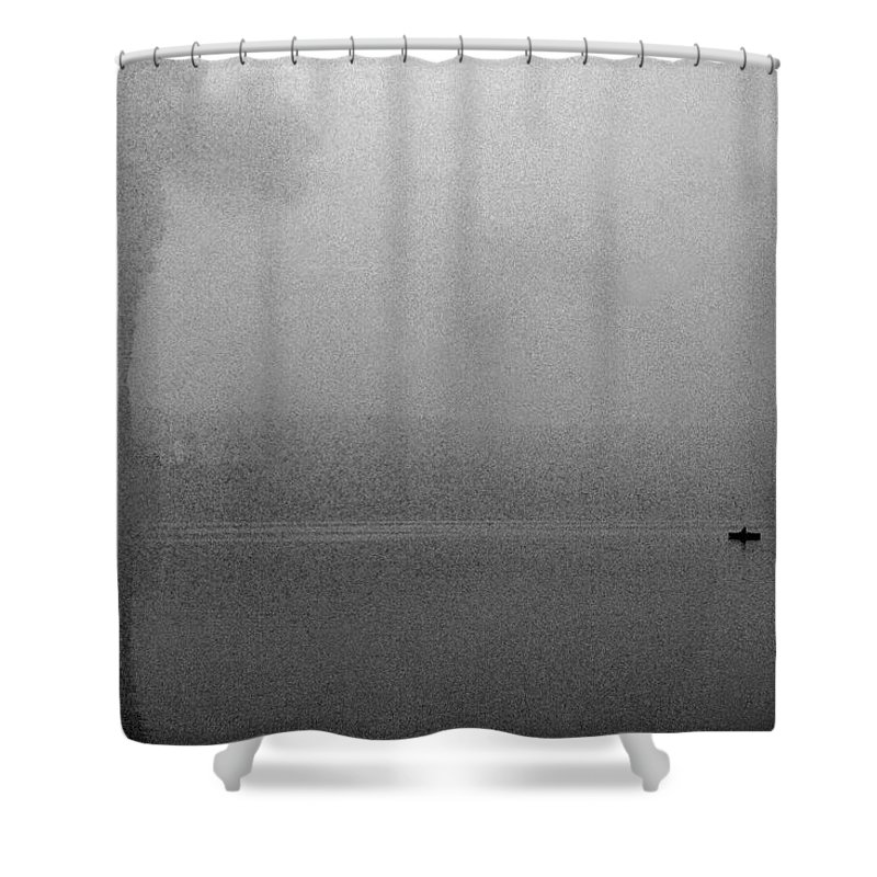 Solitude Shower Curtain featuring the photograph Cayuga Solitude by Jean Macaluso
