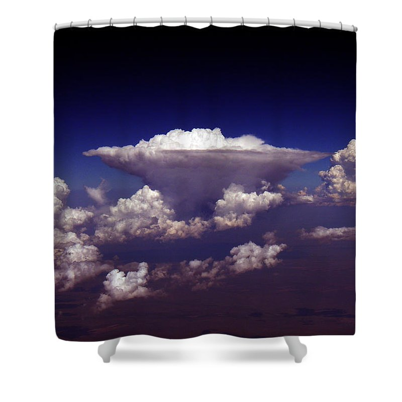 Aviation Art Shower Curtain featuring the photograph Cb2.98 by Strato ThreeSIXTYFive