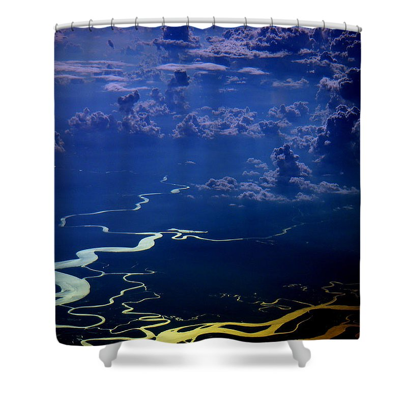Aviation Art Shower Curtain featuring the photograph Cb3.91 by Strato ThreeSIXTYFive