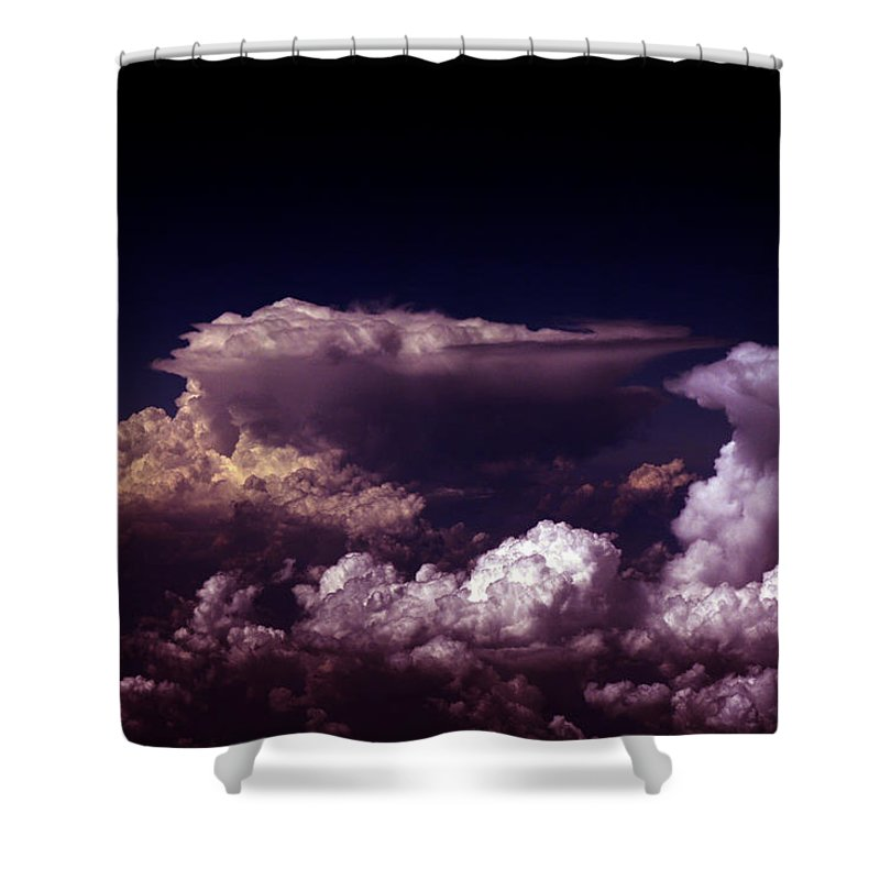 Cloud Photos Shower Curtain featuring the photograph Cb5.844 by Strato ThreeSIXTYFive