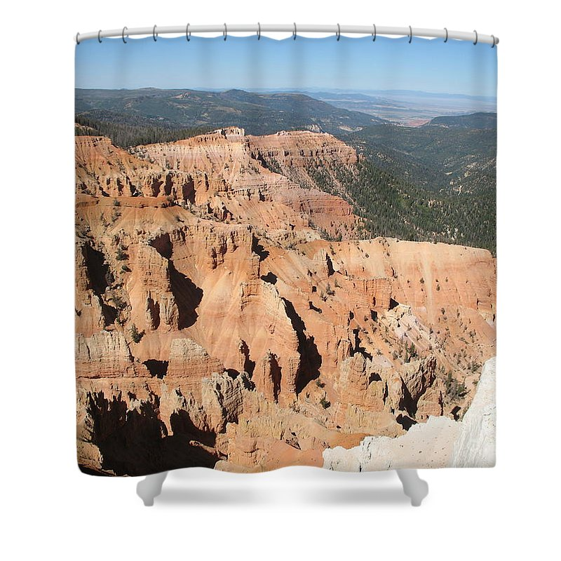 Moutains Shower Curtain featuring the photograph Cedar Breaks I - Utah by Christiane Schulze Art And Photography