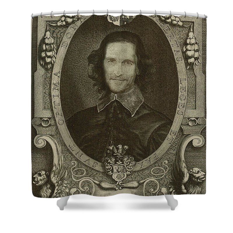 Celebrity Etchings Collection By Serge Averbukh Shower Curtain Featuring The Digital Art