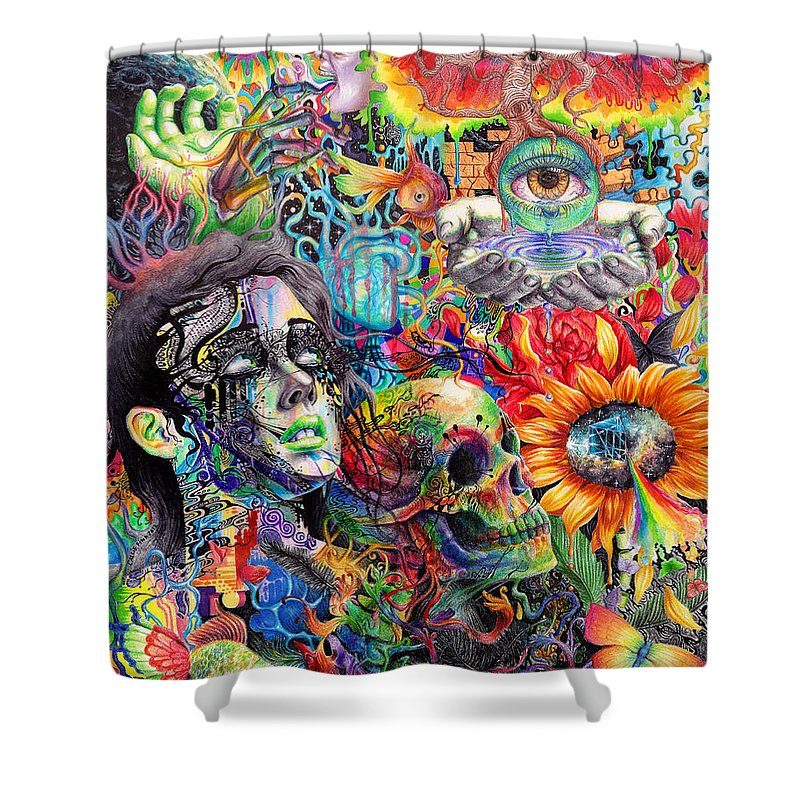 Cerebral Dysfunction Shower Curtain for Sale by Callie Fink