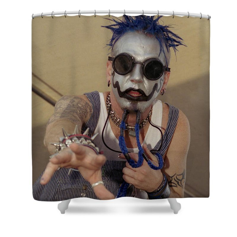 Chad Gray Of Mudvayne Shower Curtain For Sale By J Bloomrosen