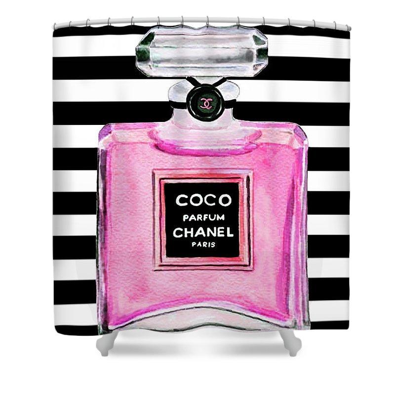 Perfume Shower Curtains