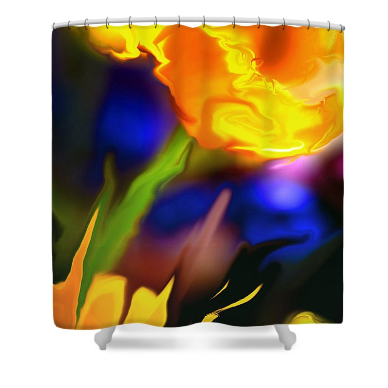 Flowers Shower Curtain featuring the photograph Charisma... by Arthur Miller
