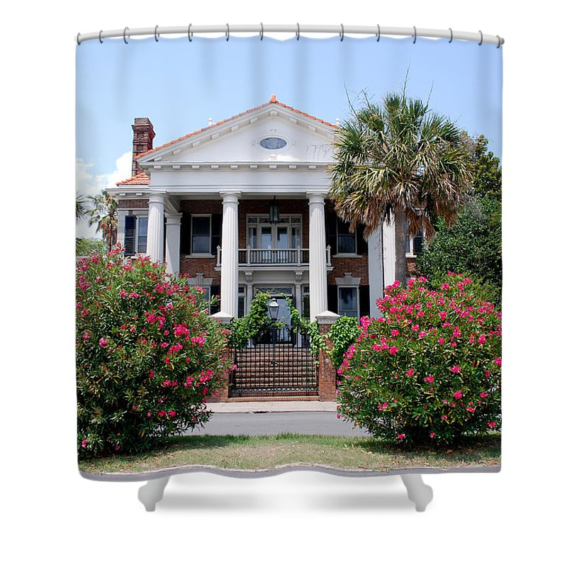 Photography Shower Curtain featuring the photograph Charleston At His Best by Susanne Van Hulst