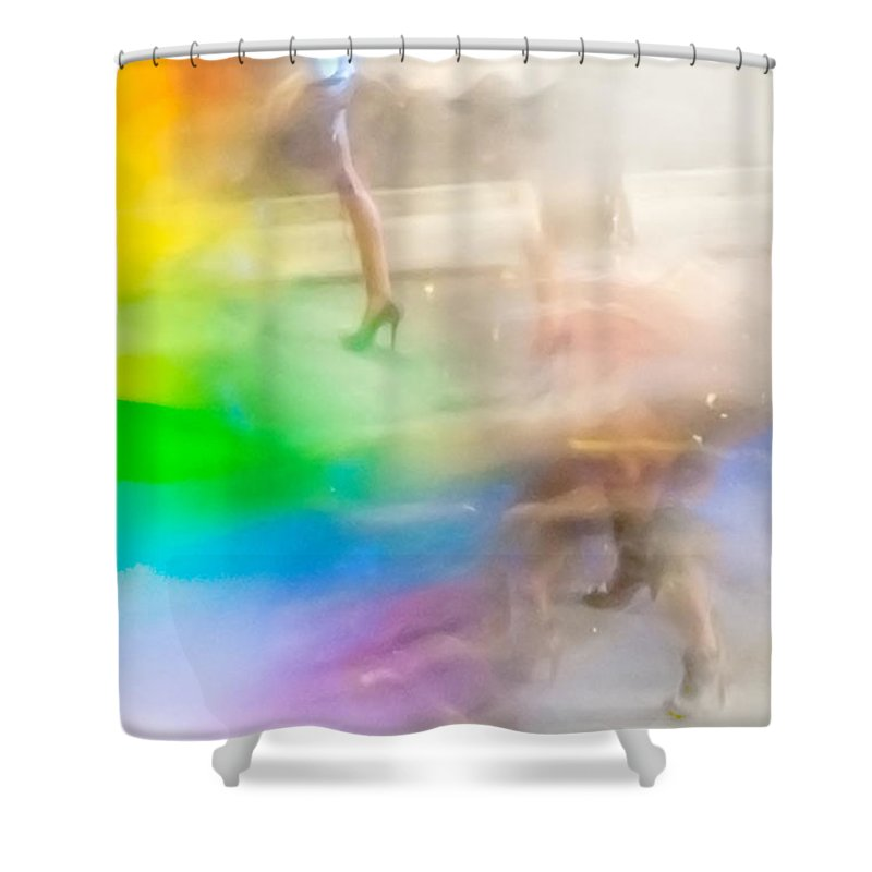 Gay Pride Flag Shower Curtains