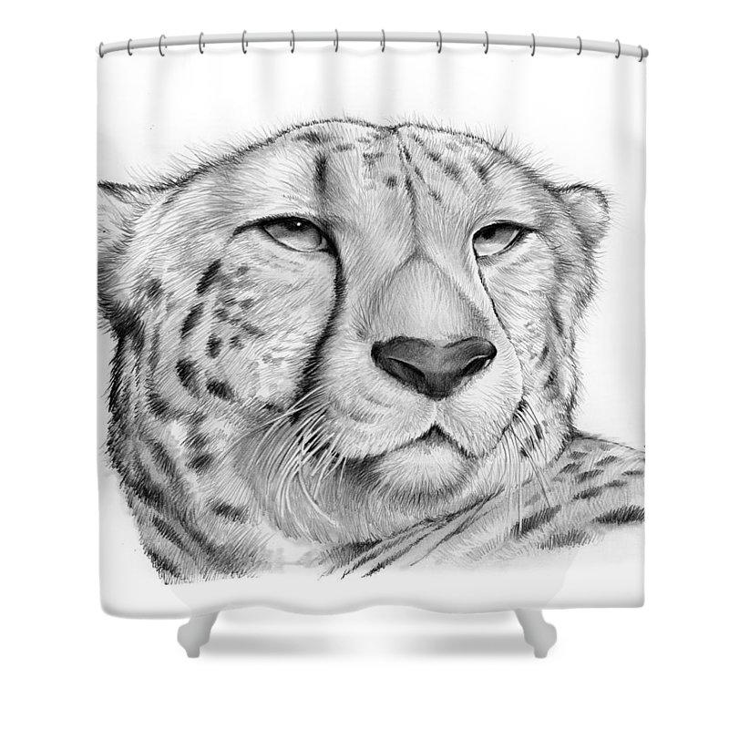 Cheetah Shower Curtain For Sale By Greg Joens