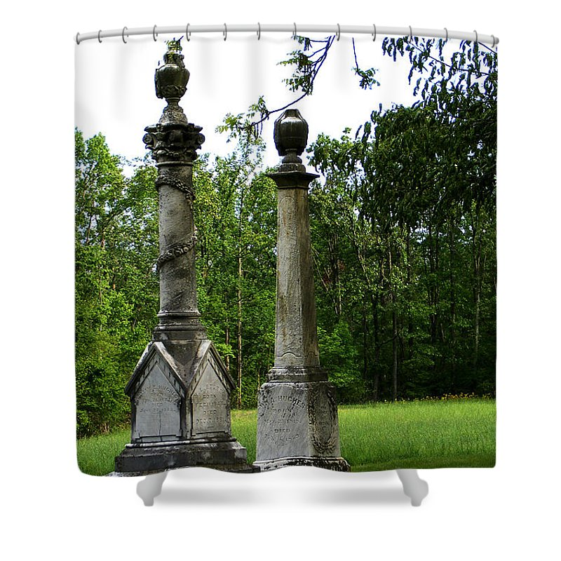 Landscape Shower Curtain featuring the photograph Chess Game by William Russell Nowicki