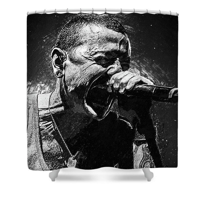 Nu Metal Shower Curtains | Fine Art America