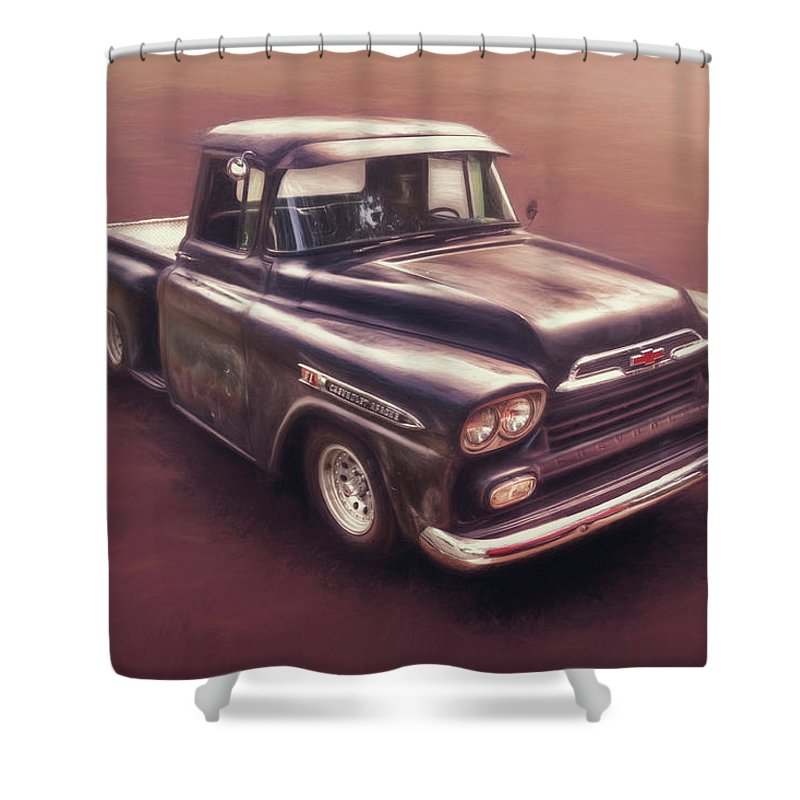 Street Rods Photographs Shower Curtains