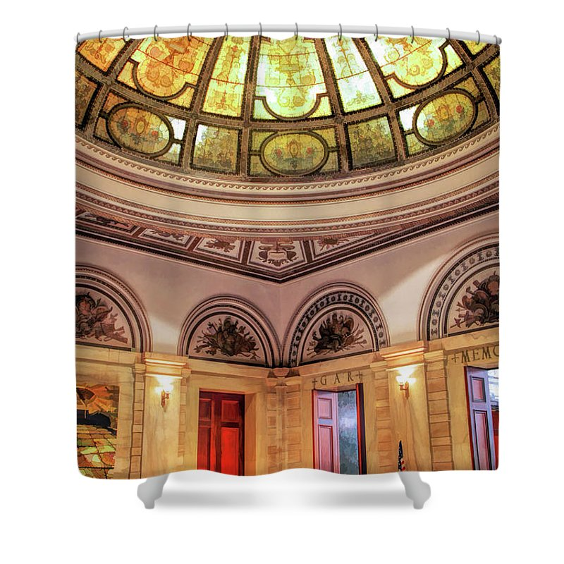 Cultural Center Shower Curtains
