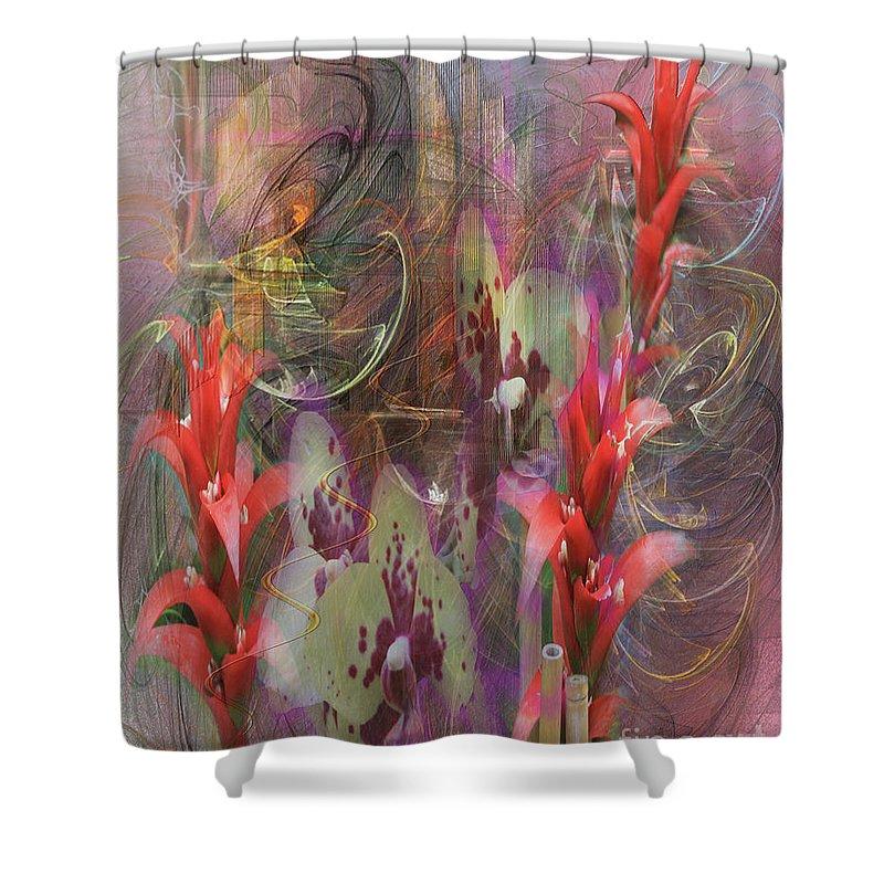 Chosen Ones Shower Curtain featuring the digital art Chosen Ones by John Beck