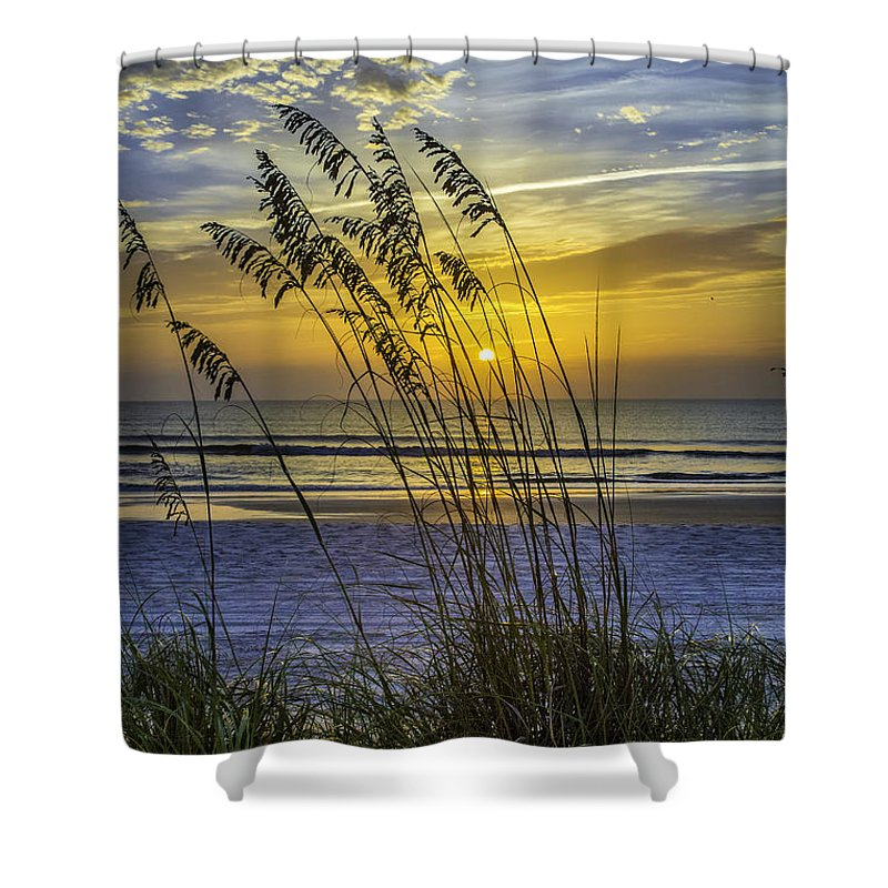 Christmas In St Augustine Shower Curtain featuring the photograph Christmas In St Augustine Fl by C W Hooper