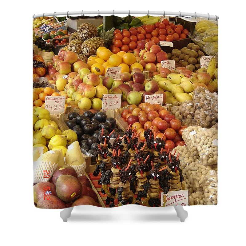 Food Shower Curtain featuring the photograph Christmas Treasures by Mary Rogers