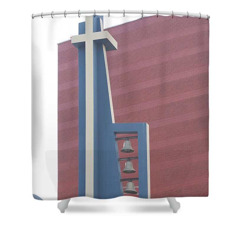 Bells Shower Curtain featuring the photograph Church Bells by Rob Hans